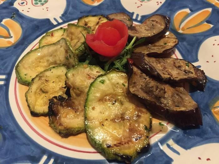 Locanda del Cerriglio, verdure grigliate