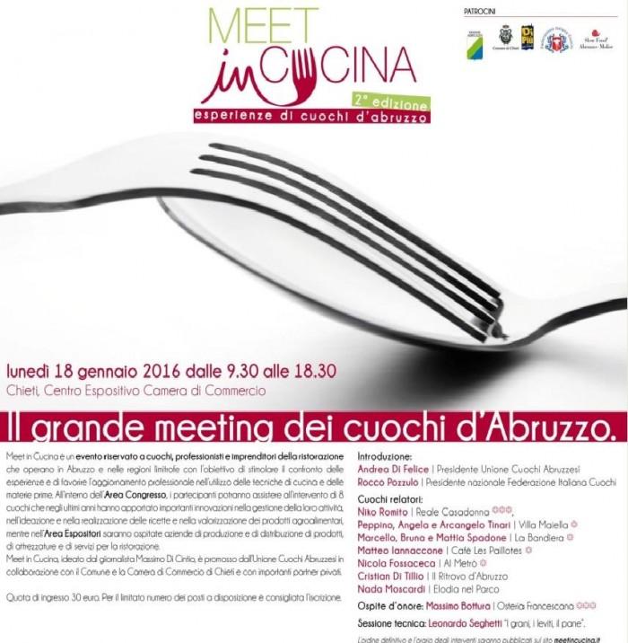 Meet in Cucina 2016, il programma
