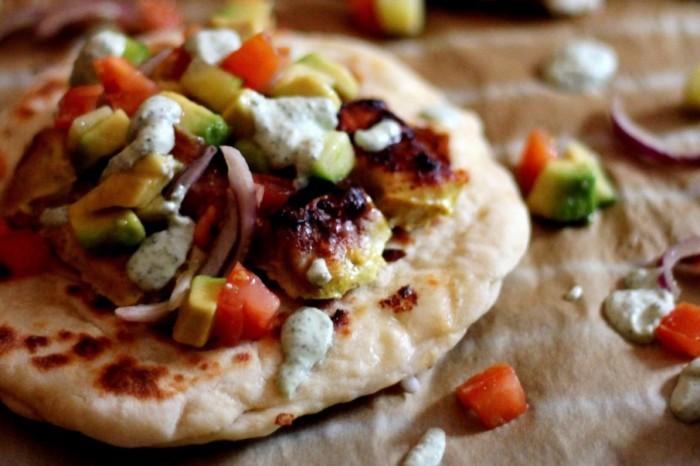 Mozzarella Cheese Naan