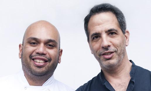 Yotam Ottolenghi e Ramael Scully, autori del libro di ricette del NOPI