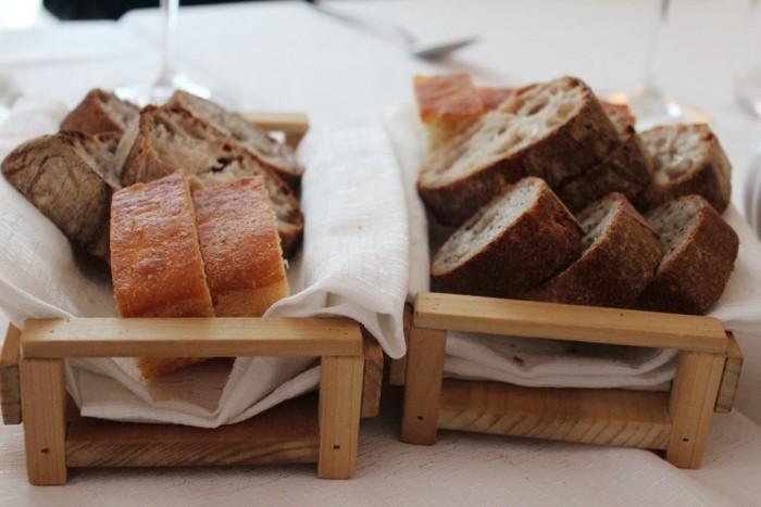 Osteria Arbustico, il pane