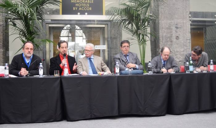Paolo Marchi, Daniel Young, Guido Barendson, Luciano Pignataro, Enzo Vizzari, Luigi Cremona