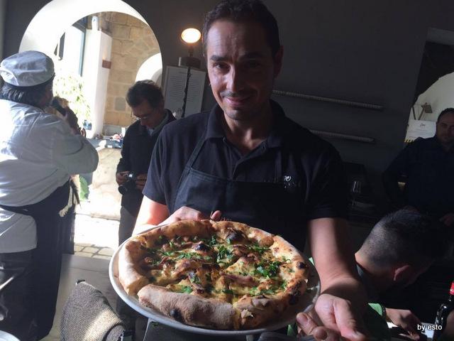 Pepe in Grani Incursioni di Gusto La pizza aglio olio e peperoncino