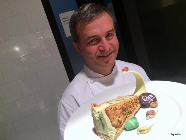 Pepe in Grani Incursioni di  Gusto Leggerezze al pistacchio di Alfonso Pepe