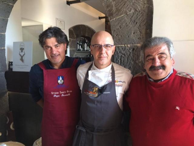 Pepe in Grani Incursioni di gusto Peppe Iaconelli e Mimmo Dalla Vecchia con Franco Pepe