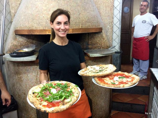 Pizzeria I Decumani. Pizze