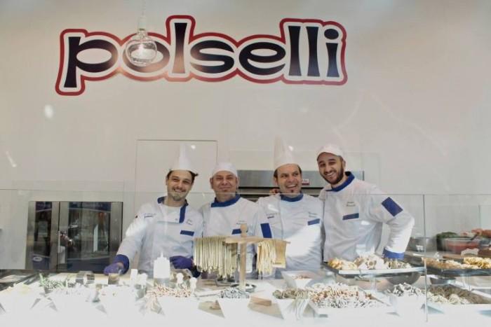 Polselli Sigep 2016. I maestri dell'Accademia. Da sx Gino  Diana,  Davide palladinelli, Maurizio Grimaldi e Giuseppe Marcuccilli.