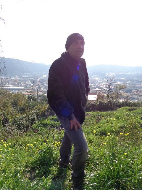 Raffaele Moccia in vigna