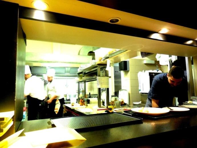 Ristorante Filippo a Pietrasanta, la cucina