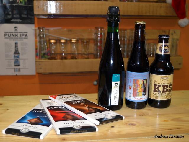 Sturgis e Birreria Indipendente n°1. Birra e cioccolato accoppiata vincente.