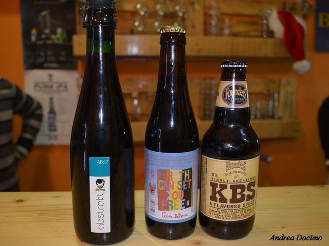 Sturgis e Birreria Indipendente n°1. Le birre della serata.