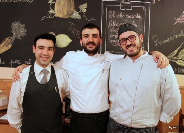 Taberna del Principe.  Giovanni Arvonio con Elia Casale e Giuseppe Montuori