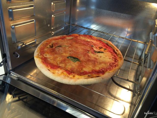 Vanvitelli Pizza & Food Gourmet.  Mauro Ramirez Pizza surgelata.Ripassata iin forno
