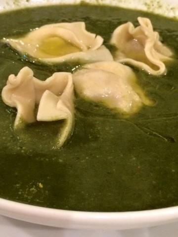 Arancia Blu,  la zuppa di cicoria