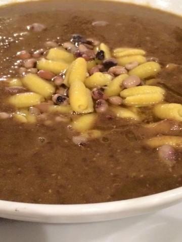 Arancia Blu, la zuppa di lenticchie