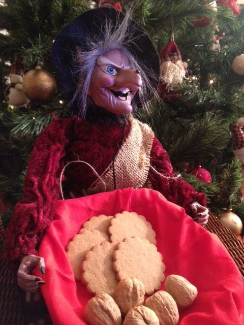 i biscotti allo zenzero aspettando la Befana
