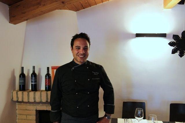 il-giardino-delle-esperidi-lo chef Gioacchino Nocera