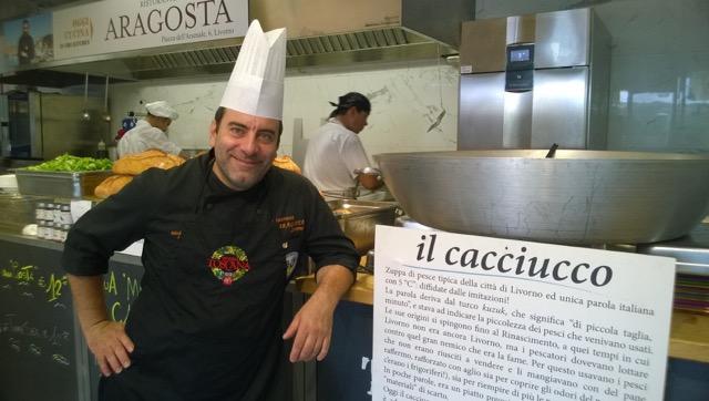 lo chef Michelangelo Rongo