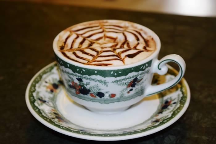 un cappuccino napoletano