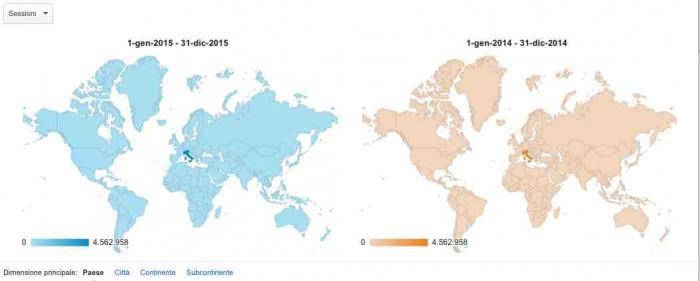 Il wineblog letto in tutti i Paesi del mondo