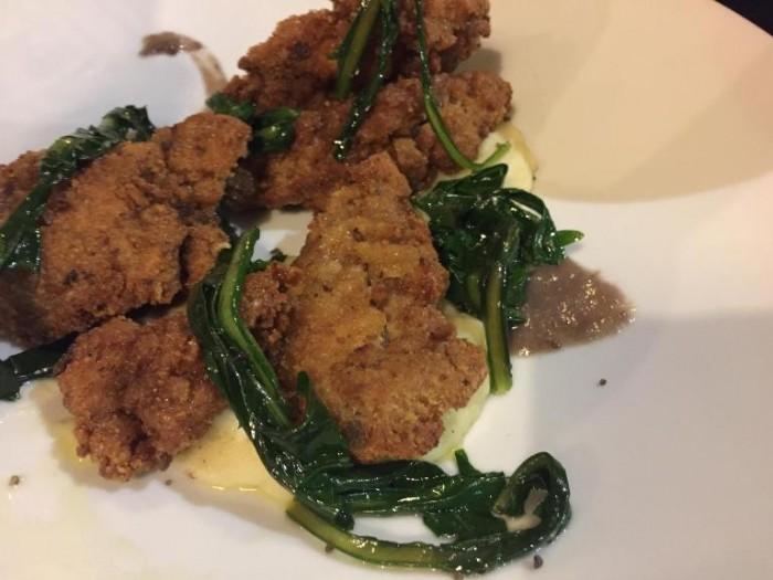Abraxas Osteria, pollo fritto