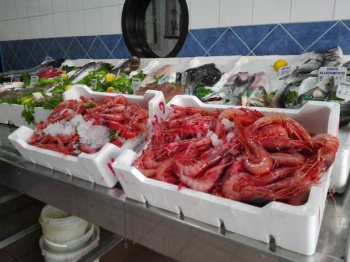 Acqua e Sale, il banco di pesce
