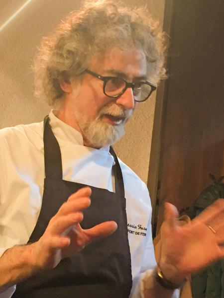 Al Pont de Ferr, lo chef Vittorio Fusari