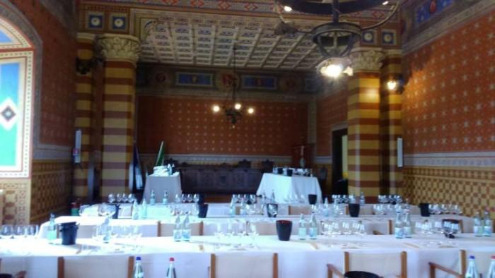 Anteprima Sagrantino, la sala degustazione