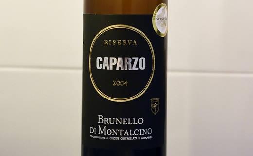 Brunello di Montalcino Riserva 2004 Caparzo