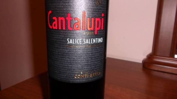 Cantalupi Salice Salentino Doc Riserva 2012 Conti Zecca