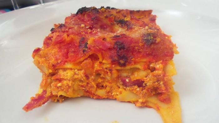 Cantine Lonardo a Cap'alice, la lasagna napoletana