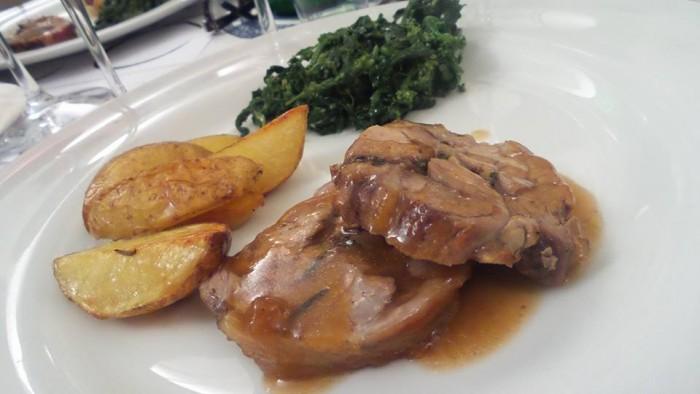 Cantine Lonardo a Cap'alice, l'agnello laticauda con friarielli e patate
