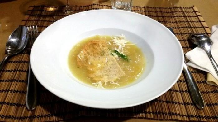 Casa Barbato, la zuppa di ramata