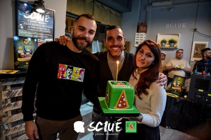 Claudio Di Casola, Marco Infante e Valeria Papi - foto di Gianmarco De Martino