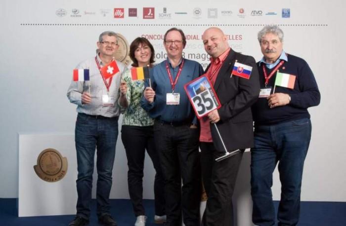Concorso Mondiale di Bruxelles 2015 a Jesolo, la giuria