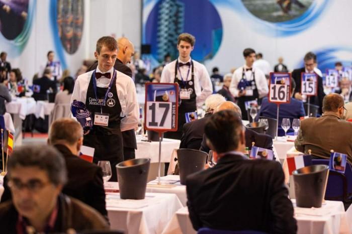 Concorso Mondiale di Bruxelles 2015 a Jesolo, la sala degustazione