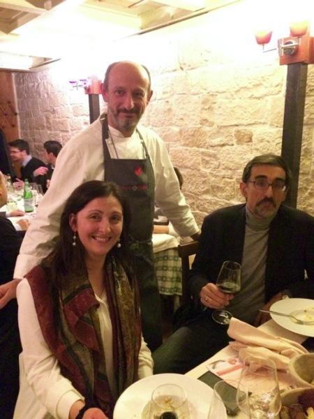 Emanuela, Beppe Schino e Cristoforo  Pastore