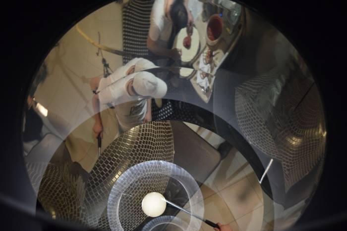 Franco Pepe, il tavolo con vista sul forno