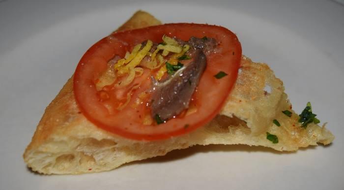 Franco Pepe, la pizza Sensazioni di Costiera