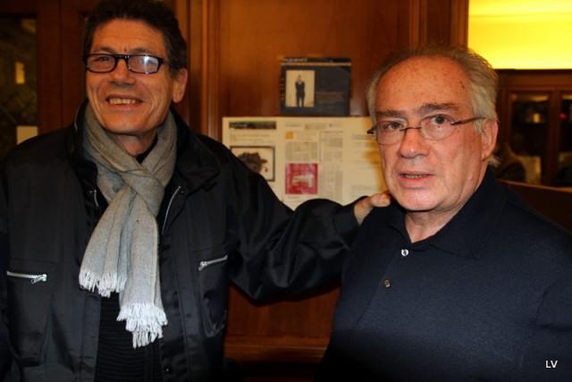 Franco Ruta con Luigi Cremona