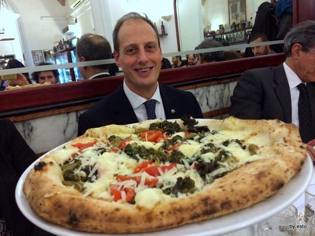 Gorizia e Umberto Cento anni di Pizza con torzella Massimo Di Porzio
