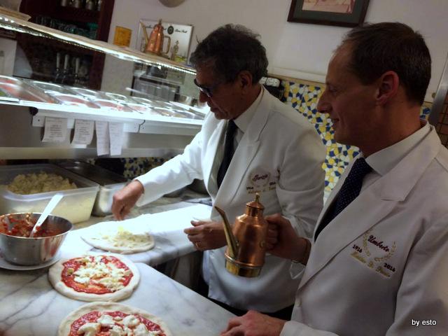 Gorizia e Umberto Cento anni di Pizzeria Salvatore Grasso e  Massimo Di Porzio