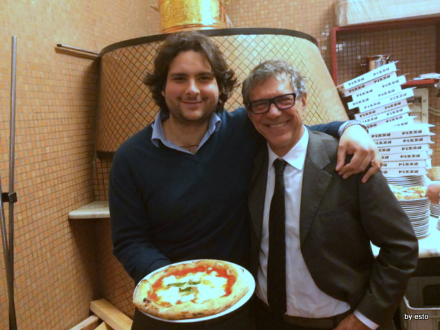 Gorizia e Umberto Cento anni di Pizzeria Salvatore e Salvatore Grasso junior e Margherita