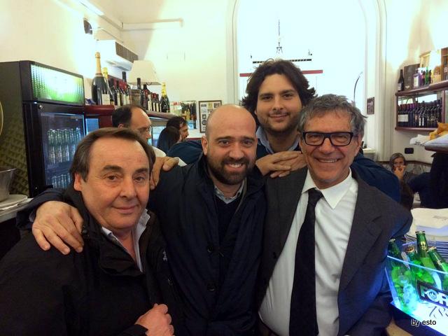 Gorizia e Umberto Cento anni di Pizzeria Salvatore e Salvatore Grasso junior