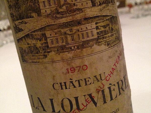 Graves 1970 Château La Louviere