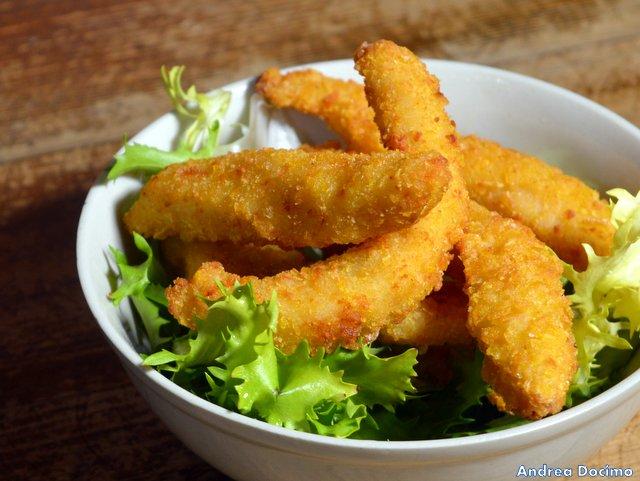 Historia Birreria, filetti di pollo panato per i bimbi