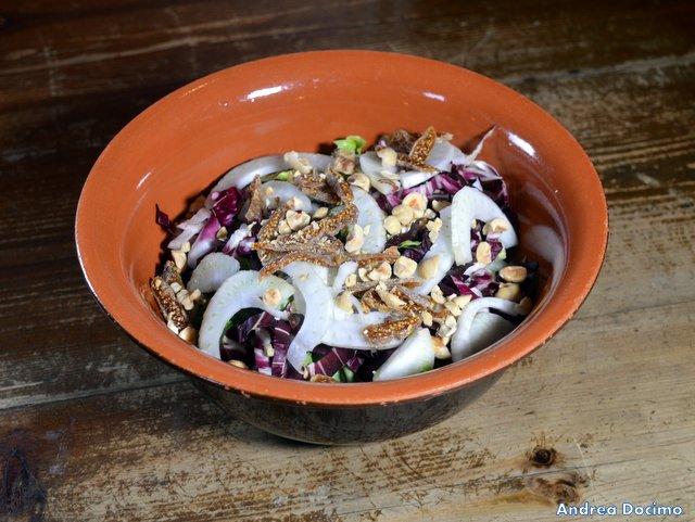 Historia Birreria, l'insalata Bizzarra