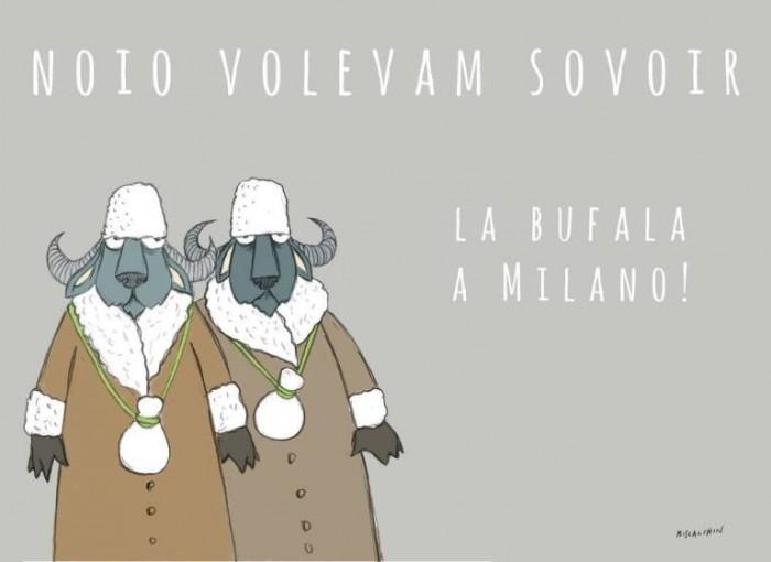 LSDM a Milano, l'illustrazione di di Gianluca Biscalchin