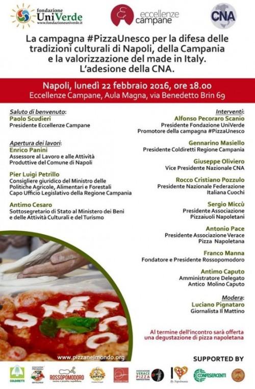 La campagna #PizzaUnesco a Eccellenze Campane