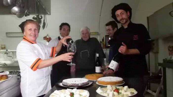Le Macine, da sx Grazia Marra, Oreste Angelico, Luciano Ferolla e Stefano D'Angiolillo
